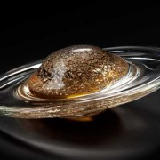 Galaxy Gold Paperweight