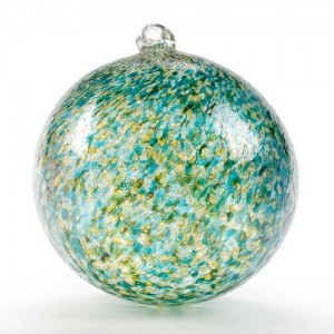 round glass ornament